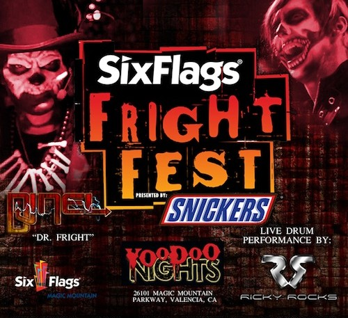 Six flags fright fest dates in Perth